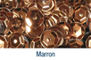 Sequins Marron - 12000 pcs - Sequins 10163 - 10doigts.fr