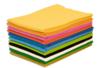 Feutrines 50 x 75 cm, 10 couleurs assorties - Feutrage 10484 - 10doigts.fr