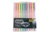 Set de 10 stylos bille encre gel, couleurs pastels assorties - Stylo bille encre gel 04814 - 10doigts.fr