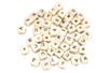 Perles lettres carrées en bois - 100 perles - Perles Alphabet - 10doigts.fr