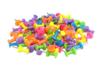 Set de 100 punaises couleurs assorties - Clous et épingles - 10doigts.fr