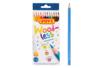 Set de 12 crayons de couleurs JOVI - Crayons de couleurs 35051 - 10doigts.fr