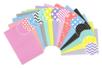 Set de 14 cartes fortes A4 - motifs assortis  - Activités en papier - 10doigts.fr