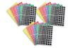 Gommettes carrées : 18 planches (2160 gommettes) - Toutes les gommettes géométriques 01744 - 10doigts.fr