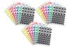 Gommettes triangles : 18 planches (2304 gommettes) - Toutes les gommettes géométriques 01745 - 10doigts.fr