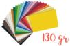 Papiers légers 130 gr/m² 25 x 35 cm - Packs 25 couleurs - Papiers couleurs 18184 - 10doigts.fr
