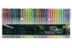 Set de 30 stylos bille encre gel (10 glitters + 10 métallisées + 10 pastels) - Stylo bille encre gel 14518 - 10doigts.fr
