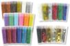Paillettes couleurs assorties - 30 tubes - Paillettes à saupoudrer - 10doigts.fr