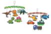 Mobiles thème Dinosaure & Transports - 4 pièces - Support pré-dessiné 18795 - 10doigts.fr