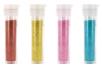 Set de 4 tubes de paillettes : turquoise, rouge, jaune et rose - Paillettes à saupoudrer - 10doigts.fr