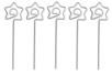Clips pense-bête étoile- Lot de 5 - Outils de Modelage 03979 - 10doigts.fr