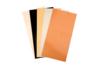 Papiers camaïeu métallisé pour supports lisses  - 5 feuilles - Plastification, films, feuilles PVC 16464 - 10doigts.fr