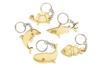 """Porte-clés en bois """"Animaux de la mer"""" - 5 animaux - Porte-clefs en bois 34130 - 10doigts.fr"""