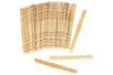 set de 50 bâtonnets en bois naturel - Bâtonnets, tiges, languettes 30092 - 10doigts.fr