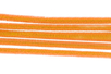 Chenilles orange - Lot de 50 - Chenilles, cure-pipe 35127 - 10doigts.fr