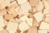 Mosaïques bois naturelles - 1 set (500 pcs) - Mosaïques bois 14934 - 10doigts.fr