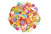 Set de 5000 ronds en papier de soie couleurs assorties - Papiers de soie - 10doigts.fr