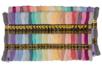 Set de 52 échevettes 100% coton - couleurs pastels - Fils 35016 - 10doigts.fr