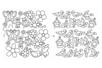 Stickers à colorier : Printemps et Oiseaux - 52 stickers - Gommettes à colorier, à gratter 38366 - 10doigts.fr