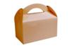 Boites à goûter en carton kraft - Lot de 6 - Boîtes 34207 - 10doigts.fr