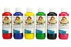 Peinture Textile , flacon de 250 ml - 6 couleurs classiques - Peinture Tissu 31074 - 10doigts.fr