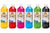 Set de 6 flacons 500 ml d'encre à dessiner - couleurs principales - Encres liquides 35088 - 10doigts.fr