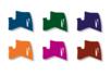 Marqueurs à laque - Set de 6 couleurs complementaires assorties - Feutres Marqueurs dessin 02987 - 10doigts.fr