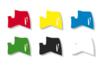 Marqueurs à laque - Set de 6 couleurs de base assorties - Feutres Marqueurs dessin 02986 - 10doigts.fr