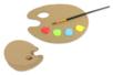 La petite palette enfant - Lot de 6 - Palettes et rangements - 10doigts.fr