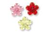 Strass adhésifs fleurs couleurs assorties - 72 pièces - Stickers strass, cabochons 19220 - 10doigts.fr