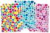 Set de 900 gommettes mosaïques fantaisie en 3 camaieux de couleurs assortis - Gommettes fantaisie 18052 - 10doigts.fr
