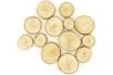 Rondelles de bois (Ø 2,5 à 5 cm - Epaisseur : 8 mm)  - environ 7 pièces - Décorations en Bois 11911 - 10doigts.fr