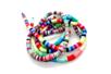 Perles rondelles Heishi couleurs assorties - 900 perles - Perles Heishi - 10doigts.fr