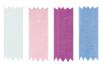 Rubans Organza 4.5 mètres ( largeur 7 mm) - 4 couleurs - Rubans et ficelles 09538 - 10doigts.fr