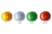 Stylos peinture 3D - 4 couleurs pailletées assorties - Stylos peinture 3D 19342 - 10doigts.fr