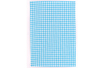 Tissu adhésif  VICHY Turquoise - Tissu auto-adhésif 19140 - 10doigts.fr