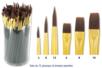 Pinceaux  à poils synthétiques - Set de 72 pinceaux  - Pinceaux poils synthétiques 10308 - 10doigts.fr