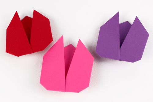 Tulipes en Origami