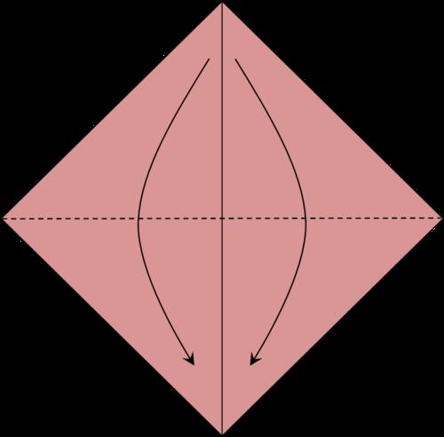 Coccinelles en Origami