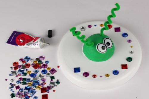 Frisbee de l'espace