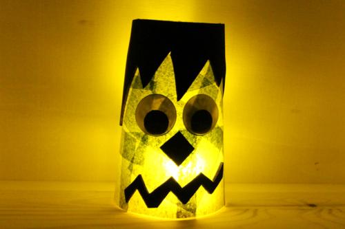 Photophores Halloween (Gobelets lumineux)