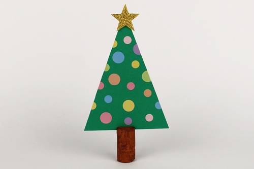 Marque-place sapin de Noël