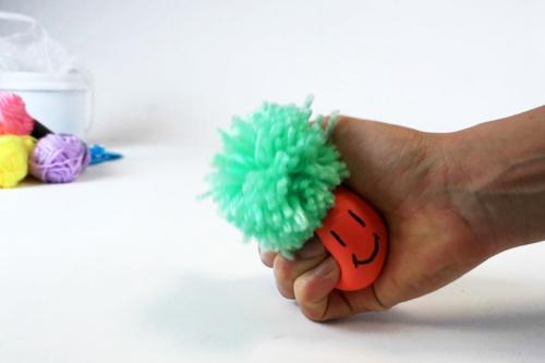 Fabriquer des balles anti-stress