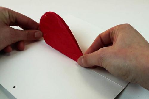 Carte Pop Up Coeur 3D