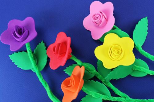 Un bouquet de fleurs pour Maman !