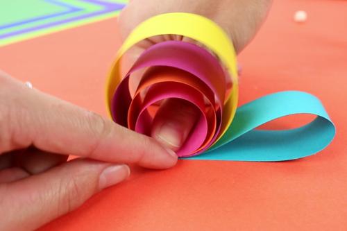 Escargot en Papier