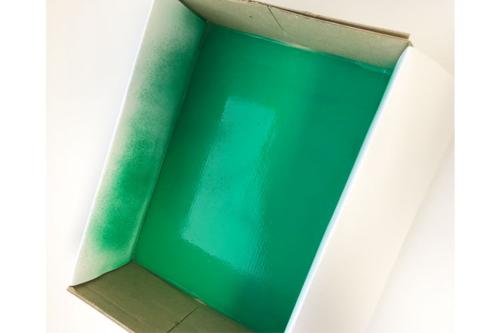 Peindre la boite -